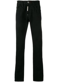 Philipp Plein Straight Cut Statement jeans