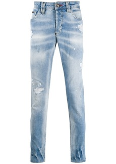 Philipp Plein Super Straight Cut denim jeans