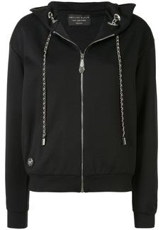 Philipp Plein Teddy Bear print zipped hoodie