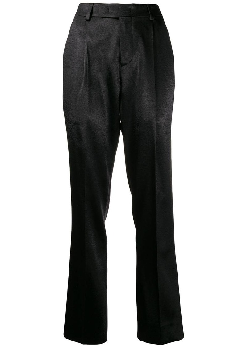 Philosophy high-waisted trousers