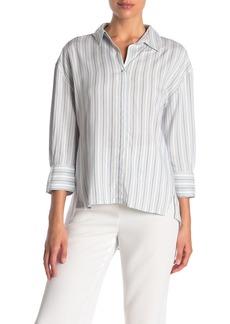 Philosophy 3/4 Sleeve Stripe Top