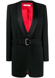 Philosophy belted tuxedo jacket