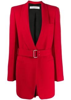Philosophy contrast belt jacket