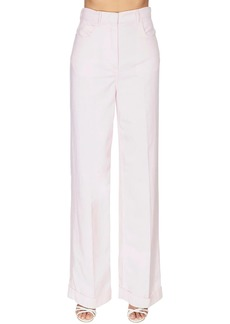 Philosophy Cotton Drill Wide Leg Pants