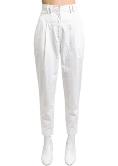 Philosophy Cropped Canvas Pants