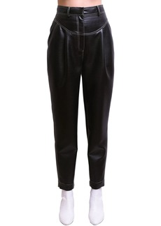 Philosophy Cropped Faux Leather Pants