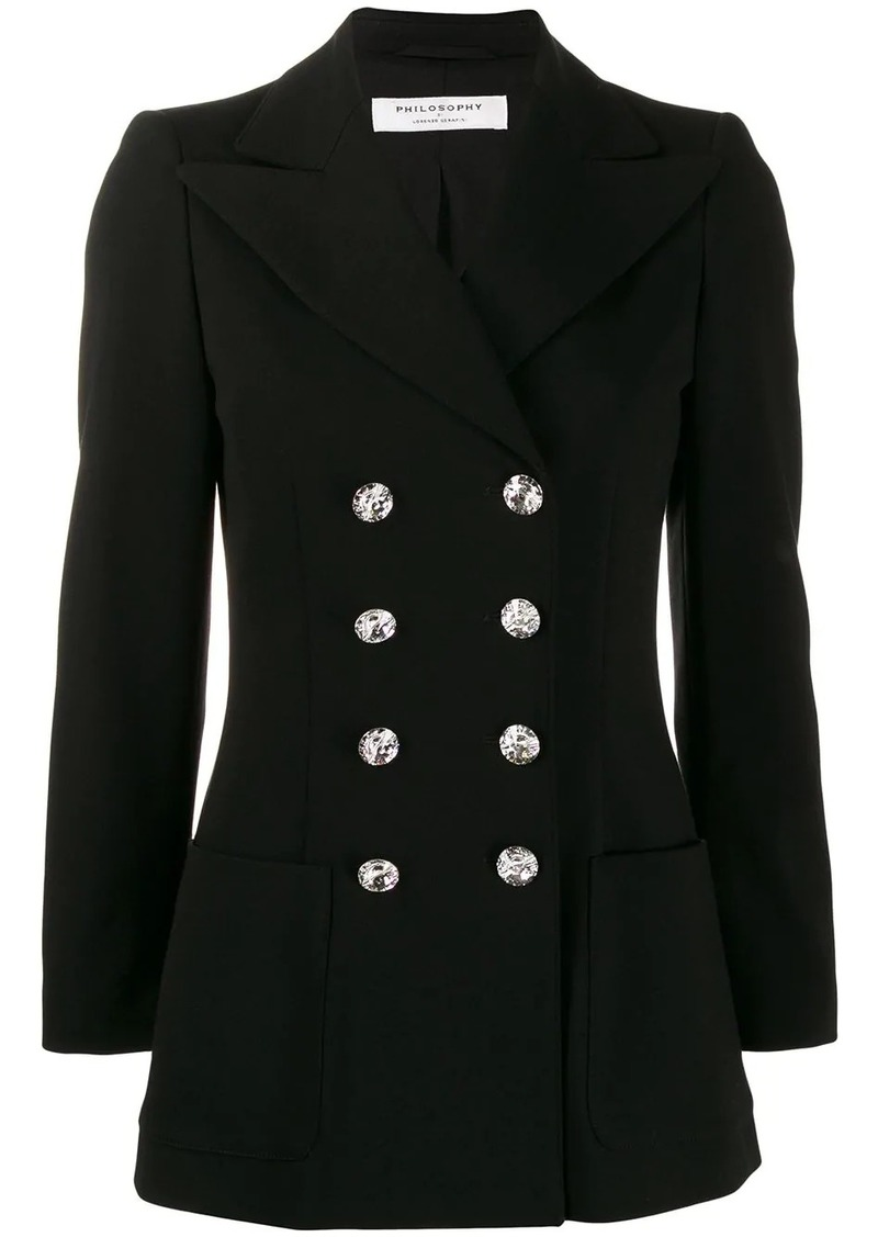 Philosophy double-breasted blazer