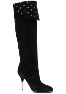 Philosophy eyelet detail boots