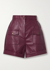 Philosophy Faux Leather Shorts