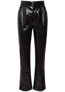 Philosophy Faux Patent Leather Crop Pants