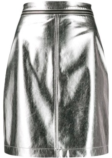 Philosophy fitted mini skirt