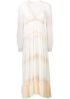 Philosophy flared maxi dress