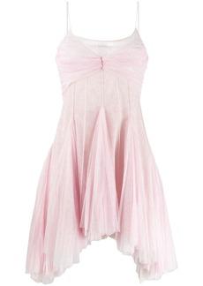 Philosophy flared shimmer dress