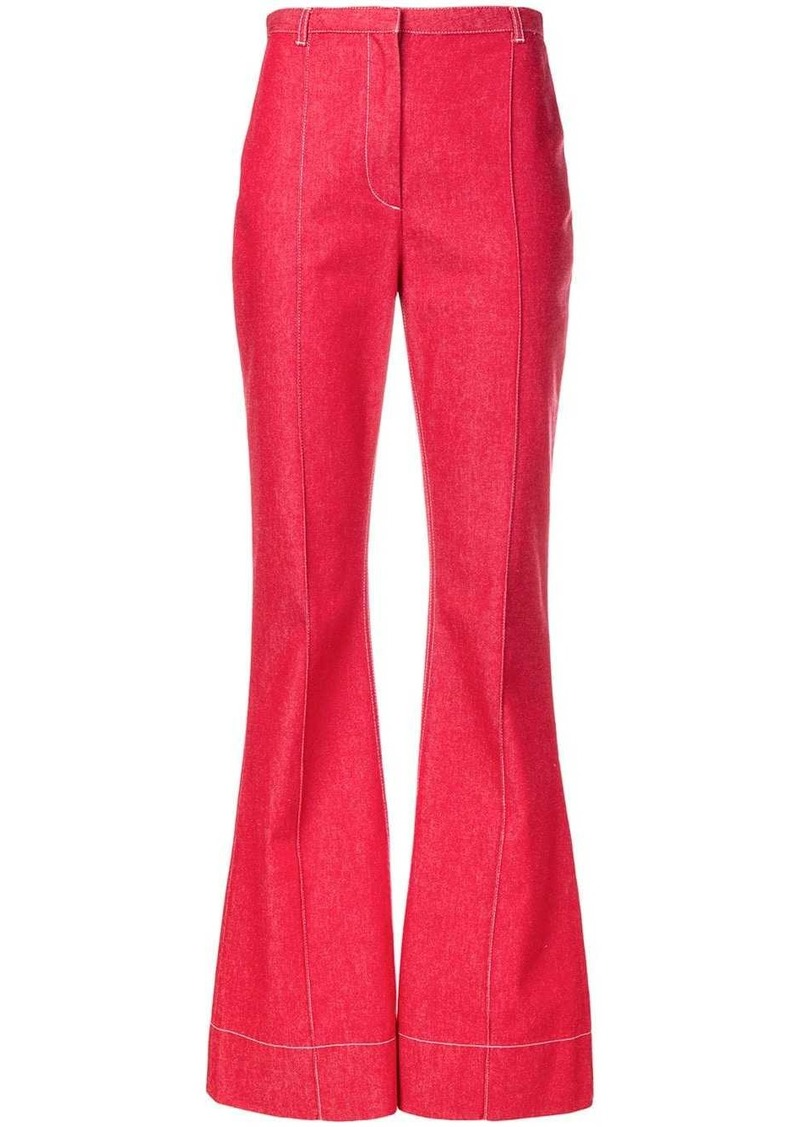 Philosophy flared trousers