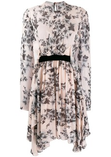 Philosophy floral long-sleeve dress