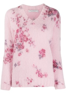 Philosophy floral-print jumper
