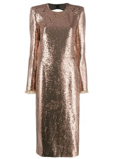 Philosophy glitter effect dress