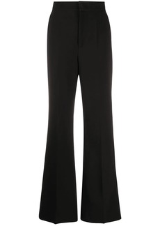 Philosophy high waist flared trousers