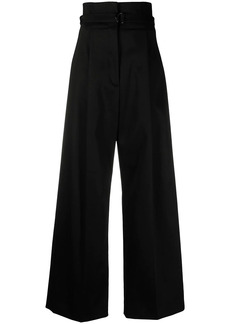 Philosophy high-waisted wide-leg trousers