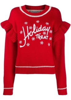 Philosophy Holiday Treat knitted jumper