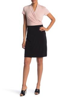 Philosophy Knit A-Line Knee-Length Skirt