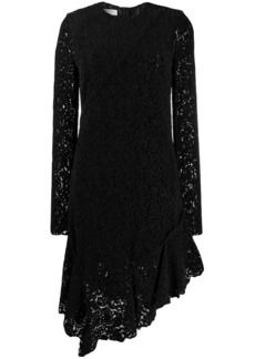 Philosophy lace asymmetric hem dress