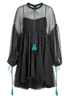 Philosophy Lace Dress with Tassels