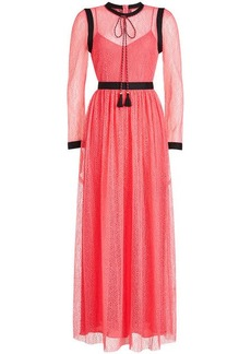 Philosophy Lace Maxi Dress with Tassels