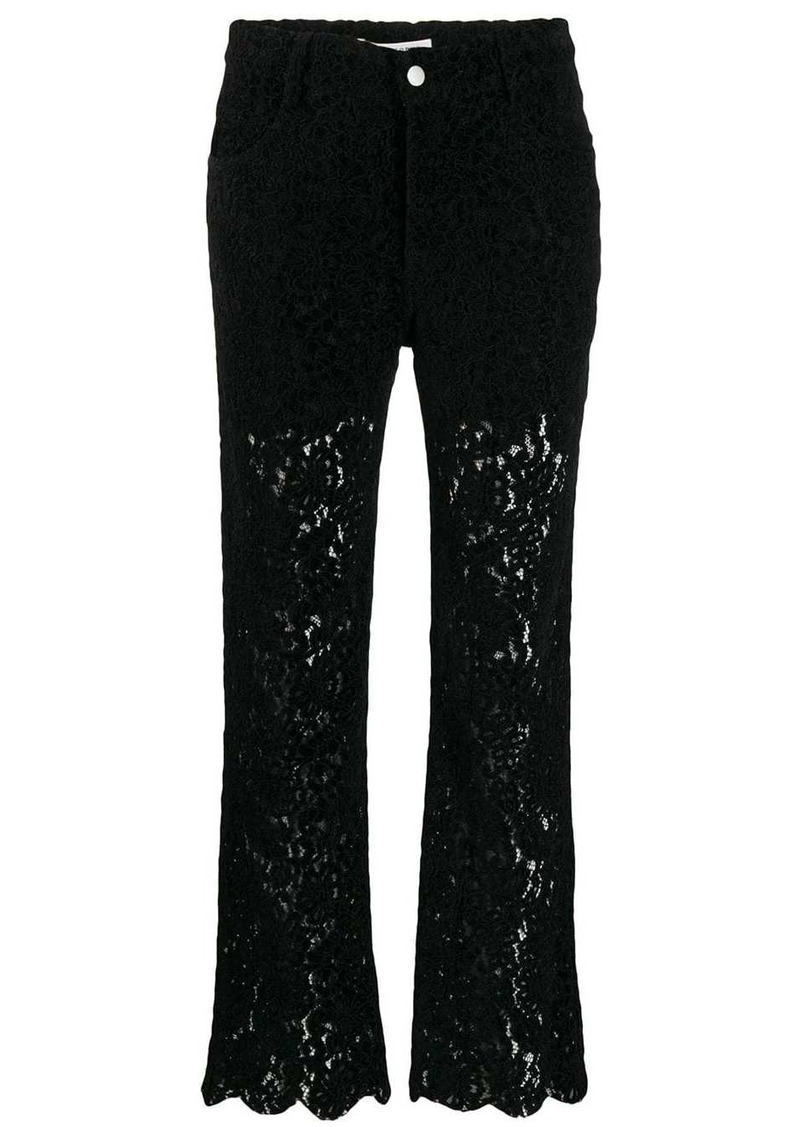 Philosophy lace trousers