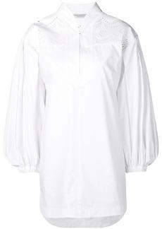 Philosophy laser-cut shirt dress