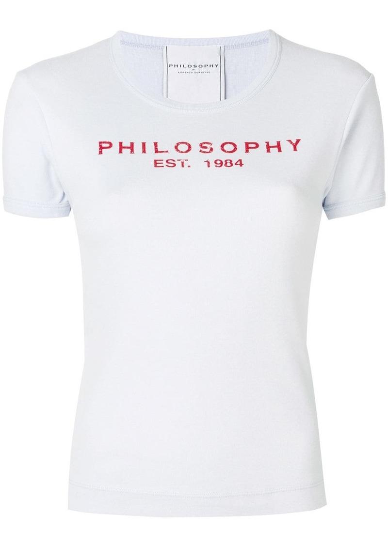 Philosophy logo-print T-shirt
