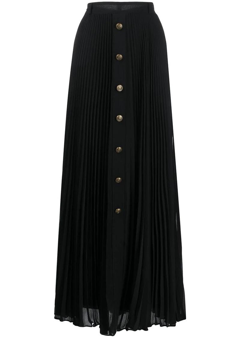 Philosophy long pleated skirt