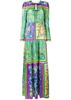 Philosophy long print tunic dress