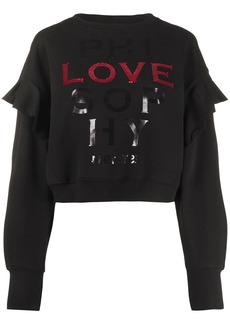 Philosophy Love slogan jumper