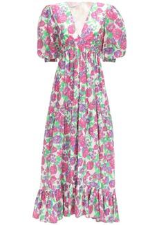 Philosophy Lvr Exclusive Printed Poplin Long Dress