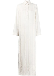 Philosophy maxi shirt dress