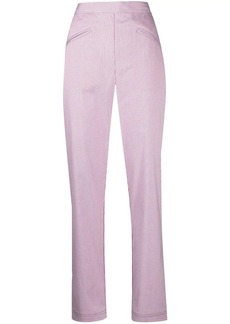 Philosophy micro-gingham trousers
