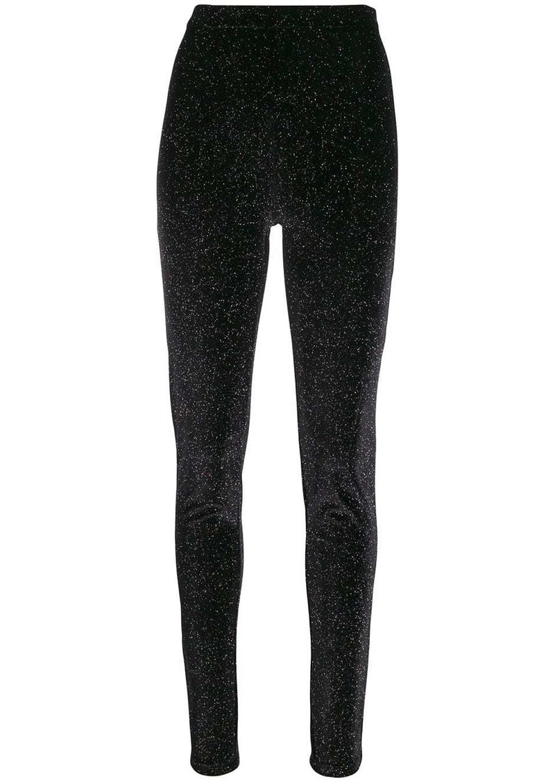 Philosophy multicoloured glitter leggings
