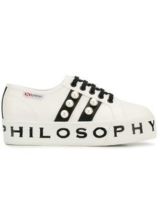 Philosophy Di Lorenzo Serafini x Superga platform sneakers