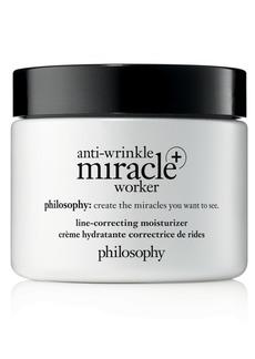 philosophy Anti-Wrinkle Miracle Worker+ Line-Correcting Moisturizer, 4-oz.