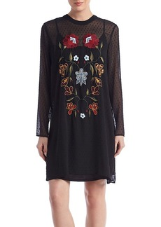 Philosophy by Republic Clothing Embroidered Dress