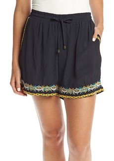 Philosophy by Republic Clothing Embroidered Shorts