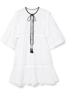 Philosophy Cotton-poplin Mini Dress
