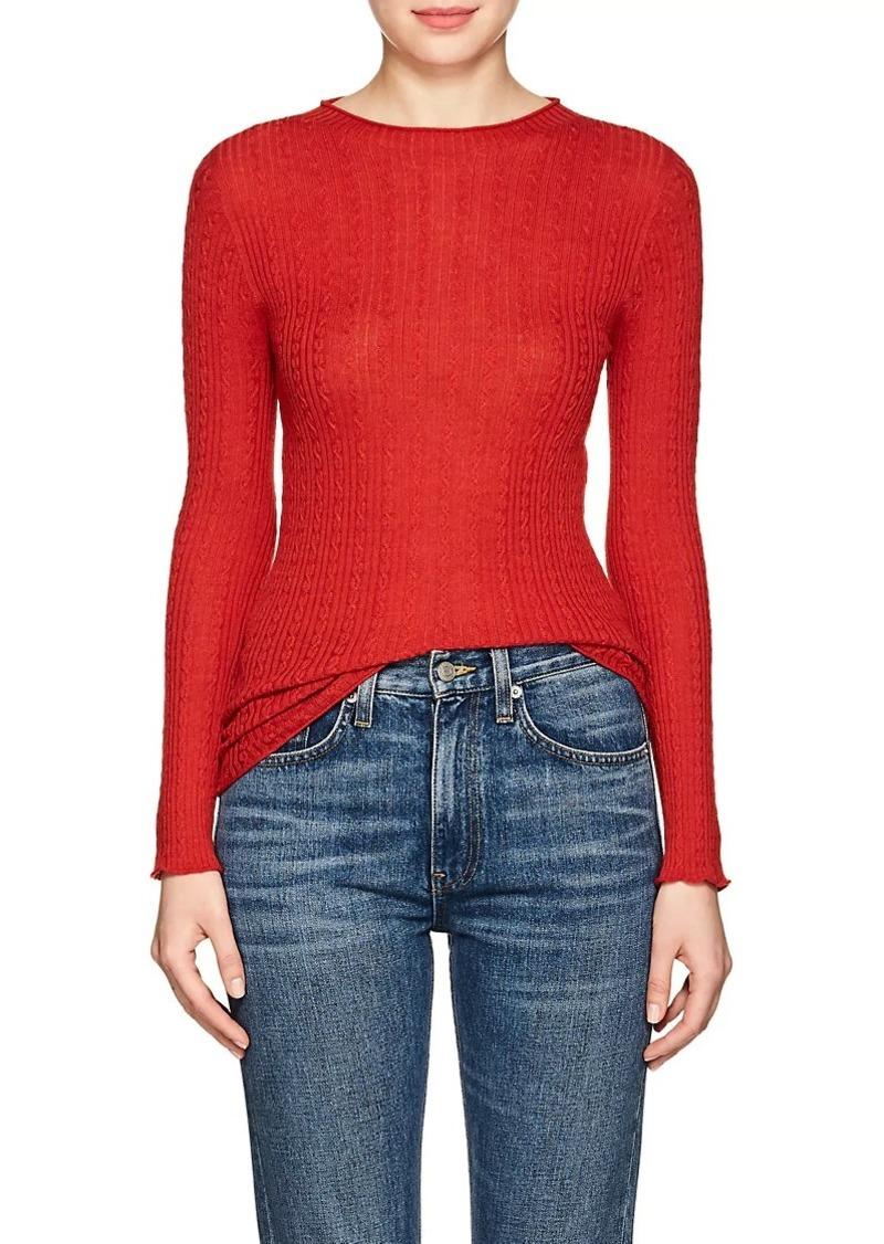 e5f806732d1238 Philosophy Philosophy di Lorenzo Serafini Women's Cable-Knit Wool ...