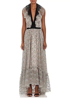 Philosophy di Lorenzo Serafini Women's Floral Lace Maxi Dress