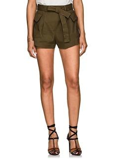 Philosophy di Lorenzo Serafini Women's Linen-Blend Cargo Shorts