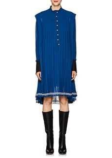 Philosophy di Lorenzo Serafini Women's Pleated Chiffon Pinafore Dress