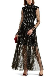 Philosophy di Lorenzo Serafini Women's Polka Dot Tulle Gown