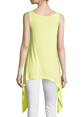 Philosophy Scoop-Neck Asymmetric Tank