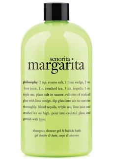 philosophy senorita margarita ultra rich 3-in-1 shampoo, shower gel and bubble bath, 16 oz